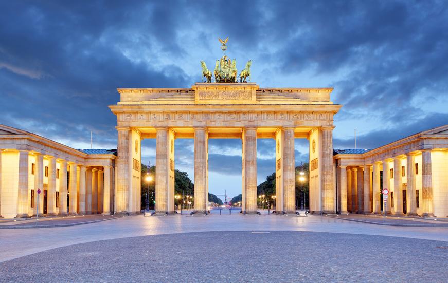 Puerta de Brandenburgo en Berlín accesible para silla de ruedas
