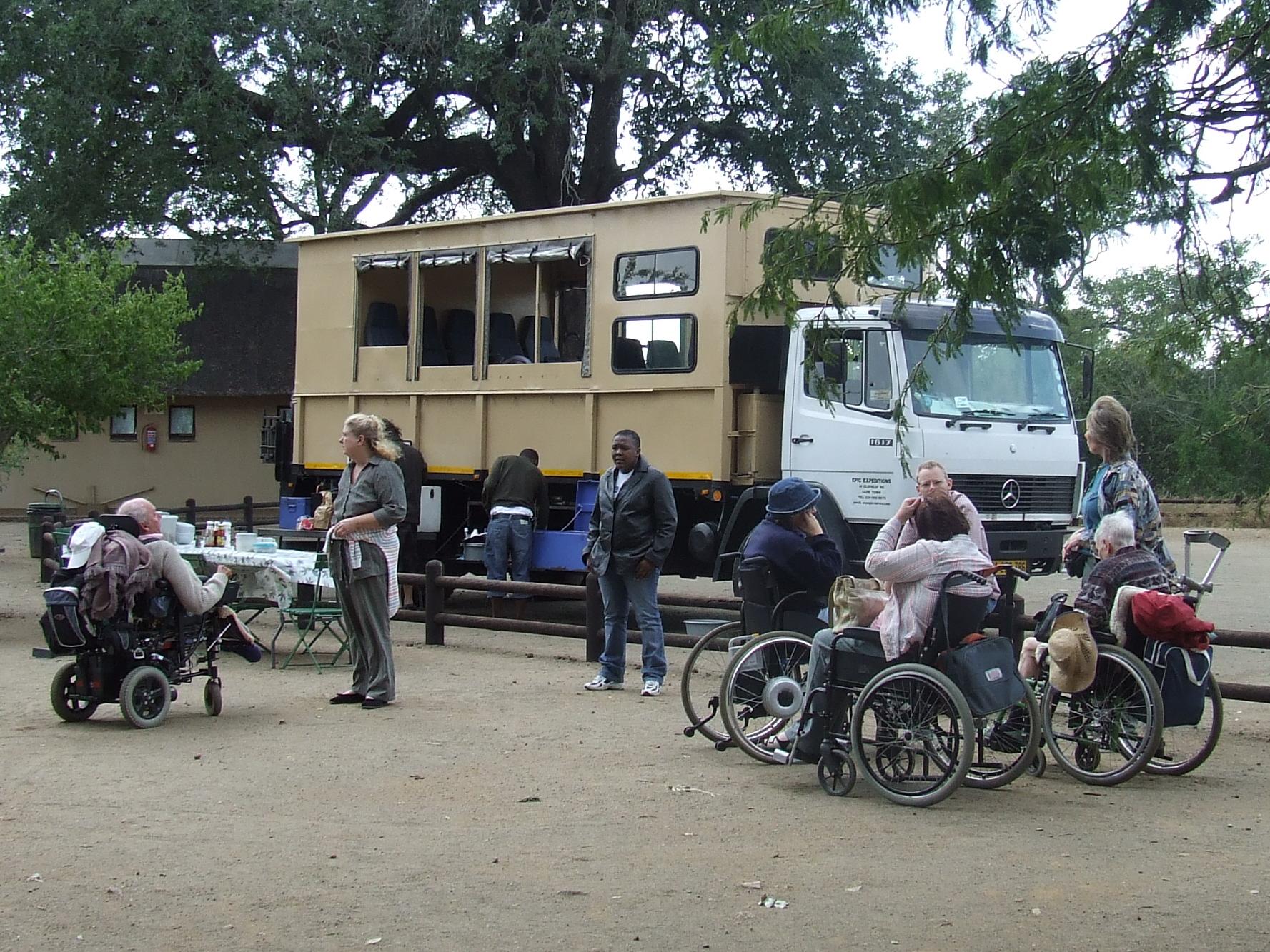 Transporte adaptado en Sudáfrica accesible