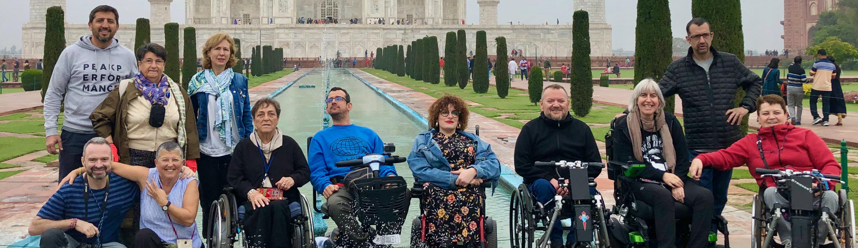 Viaje a India en silla de ruedas para personas con discapacidad