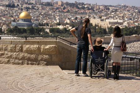 Israel en silla de ruedas, turismo accesible en israel