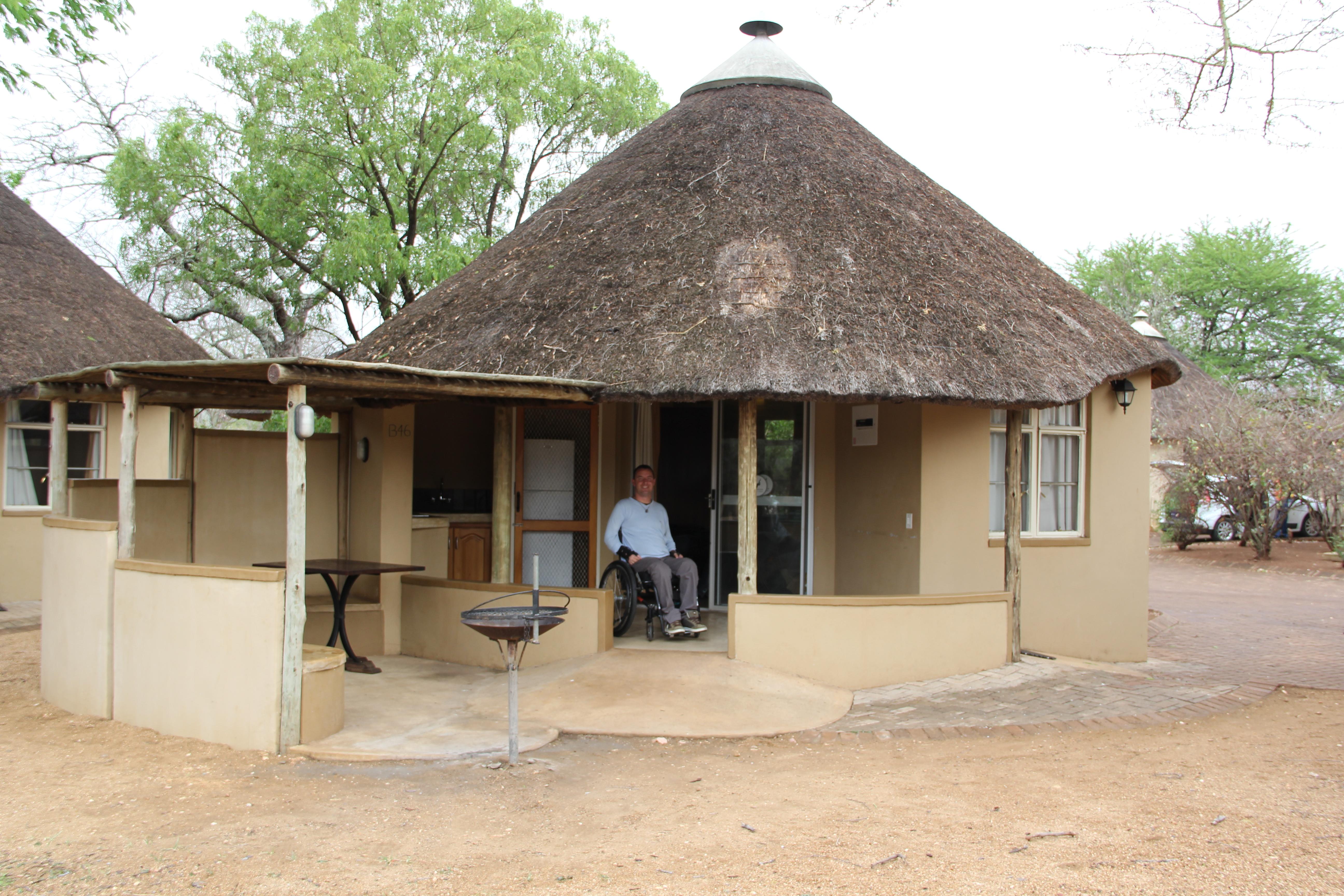 Alojamiento adaptado en el Parque Kruger