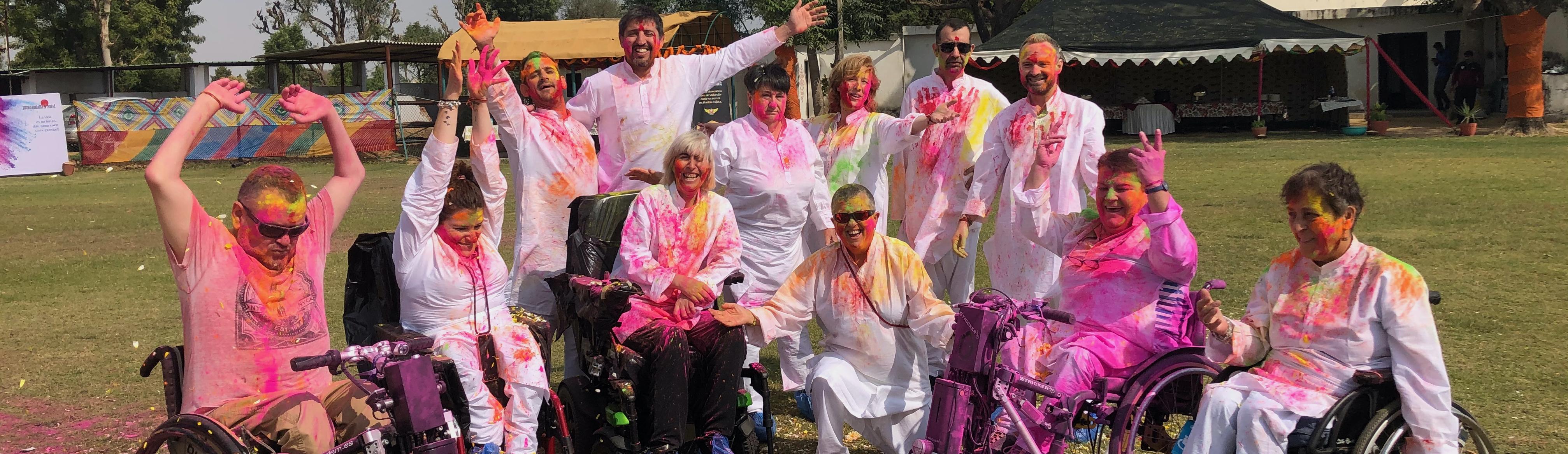 Viaje accesible a India en silla de ruedas para personas con discapacidad
