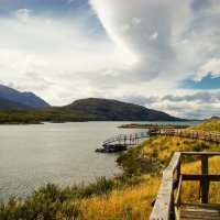 bahía la pataia pasarela adaptada en ushuaia