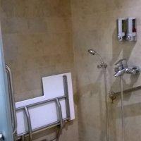 Baño adaptado para personas con discapacidad en el Caribe