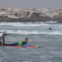 Surf para personas con discapacidad