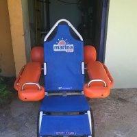 Silla anfibia para personas con discapacidad en el Caribe