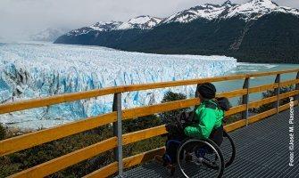Argentina. Perito Moreno Accesible Silla de Ruedas