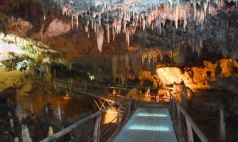 Turismo accesible en Cantabria, Cueva del Soplao en silla de ruedas