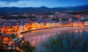 San Sebastián en silla de ruedas