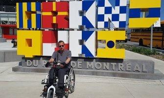 Canada en silla de ruedas