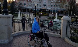 Eurodisney en silla de ruedas para personas con discapacidad