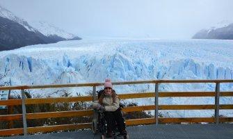 Glaciar Perito Moreno en silla de ruedas, Turismo accesible en Argentina