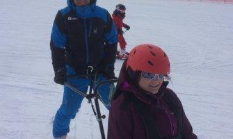 Esqui adaptado en Grandvalira para personas con discapacidad