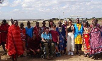 Safari accesible por Kenia en silla de ruedas