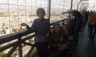 Paris en silla de ruedas