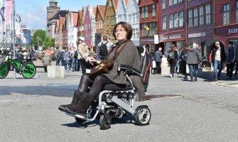 Noruega en silla de ruedas