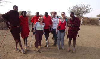 Safari para personas con discapacidad en Kenia