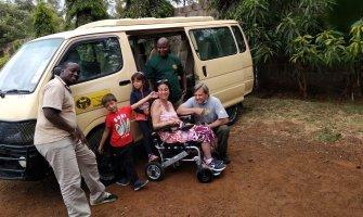 Viaje a Kenia en silla de ruedas
