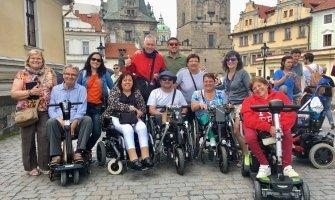 Turismo accesible en Praga para personas con discapacidad