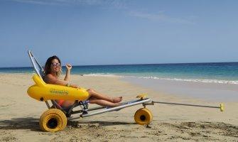 Viajar a Fuerteventura con silla de ruedas